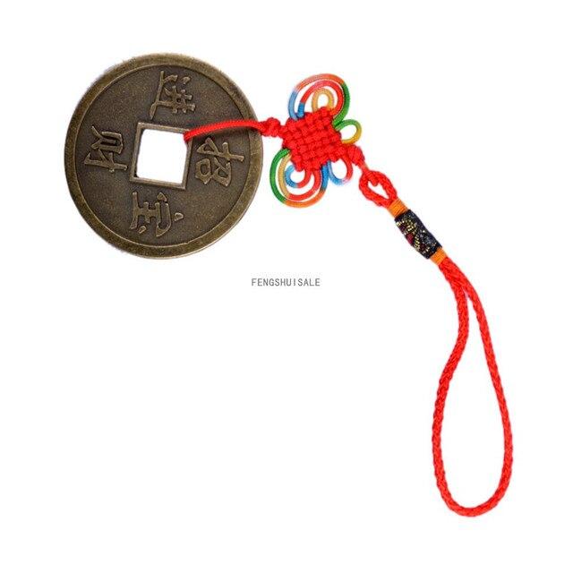 Fengshui Yin Yang Bagua I Ging Münzen Chinesischen Knoten Amulett