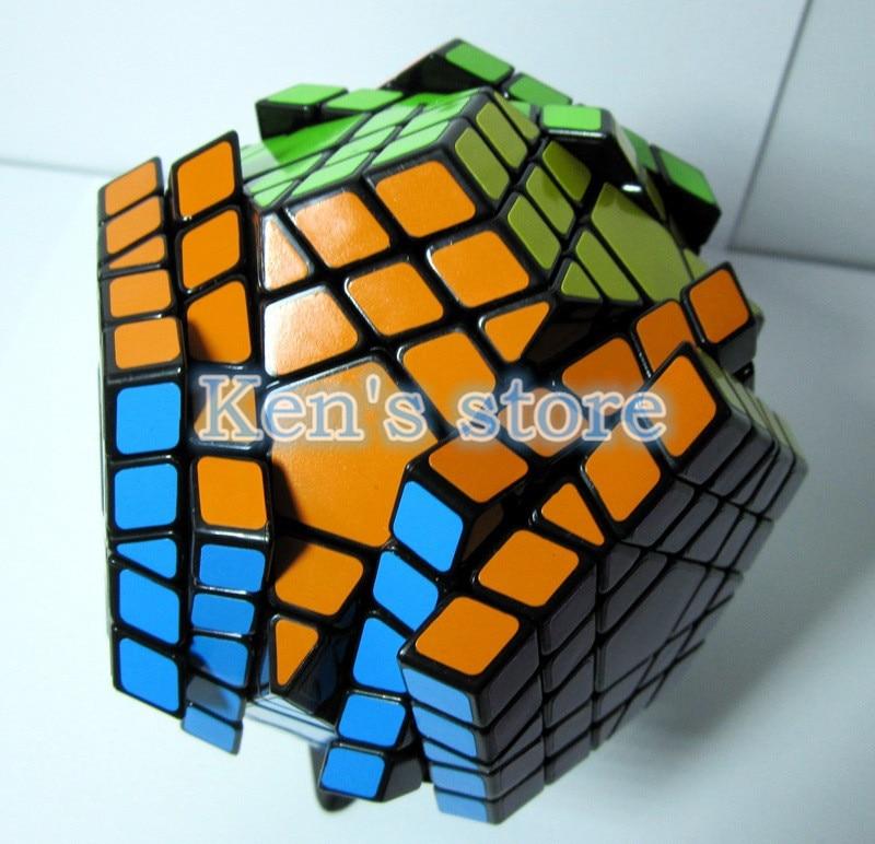 2017 Novi Shengshou SHS Gigaminx Puzzle Cube Stručni 5x5x5 PVC i Mat - Igre i zagonetke - Foto 3