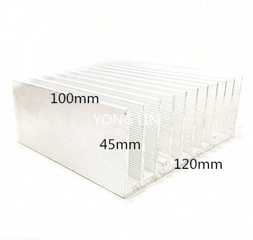 2pcs heatsink 120*45-100MM/Module heatsink/Power heatsink/Power electronics dedicated heatsink