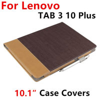 Case For Lenovo TAB 3 10 Plus Protective Smart Cover Leather Tablet For Case For TAB3