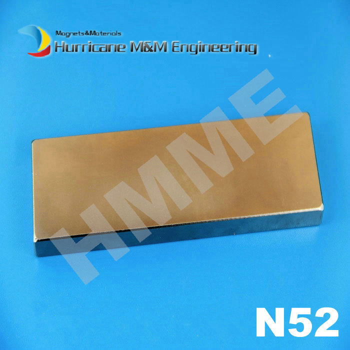 2 pcs/lot N52 NdFeB Block 150x40x10 mm Strong Neodymium Permanent Magnets Rare Earth Industry Magnet qs 3mm216a diy 3mm round neodymium magnets golden 216 pcs