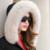 Mujeres Abajo Abrigo de Invierno 2016 Nueva Mujer Delgada Marca de Alta Calidad Señoras abrigos de Piel de Zorro Chaqueta de Cuello de Moda Ropa de Abrigo Y155