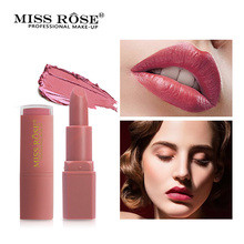 MISS ROSE Moisturizer Matte Lipstick Makeup Long-Lasting Waterproof Tint Lips Professional Cosmetics Women Lip Stick Make Up miss rose matte lipstick waterproof nutritious easy to wear lipstick long lasting lips makeup