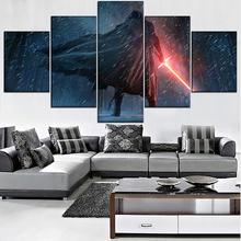 Modular Pictures Canvas HD Print Movie Poster 5 Pieces Star Wars Painting Modern Wall Art Framework Living Room Home Decorative