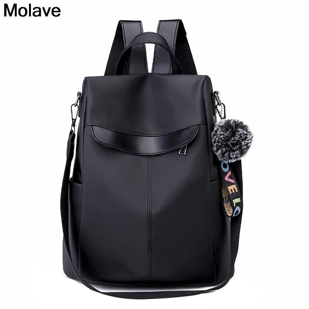 MOLAVE рюкзак диких женщин ткань Оксфорд рюкзак для девочек подростков сумки на плечо большой емкости студентов Mochila Feminina 3. NOV.30