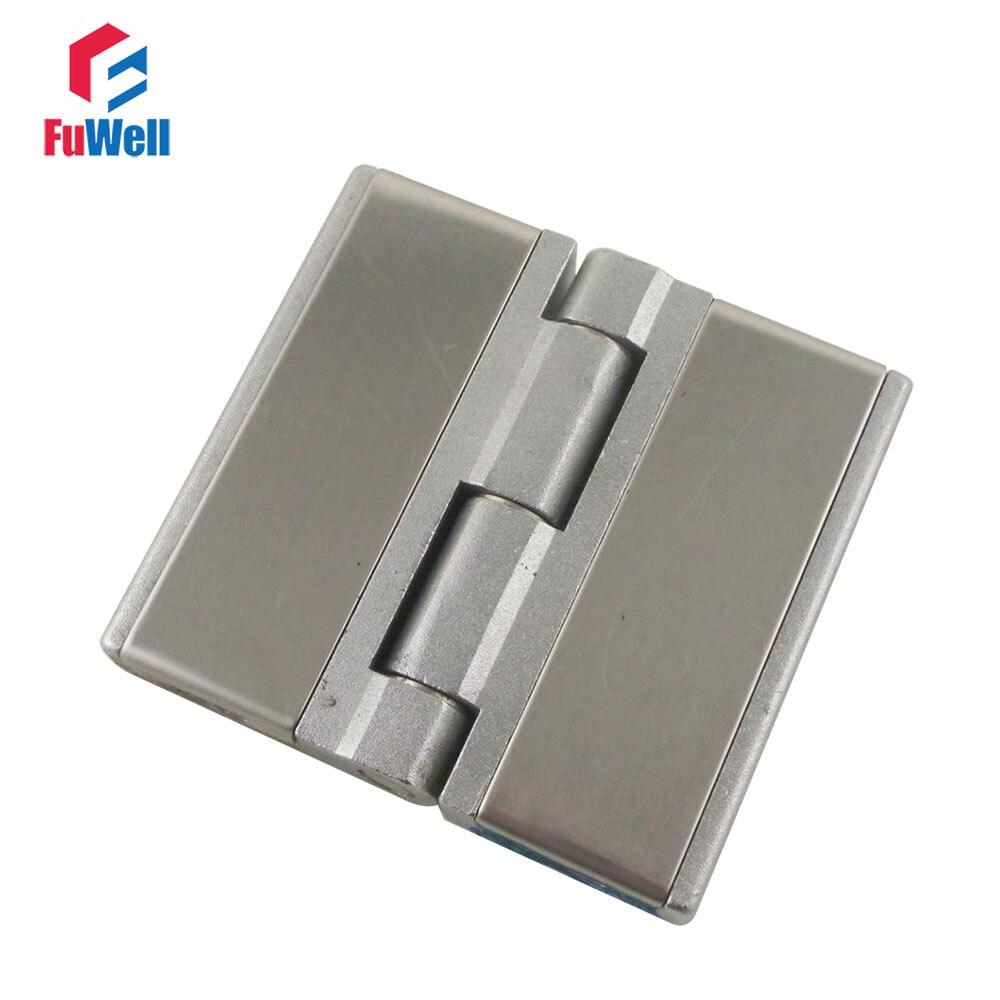 2pcs CL251-3 Door Butt Corner Hinges Zinc Alloy Heavy Duty Door Hinges 60x63mm Furniture Hinges for Kitchen Cabinets