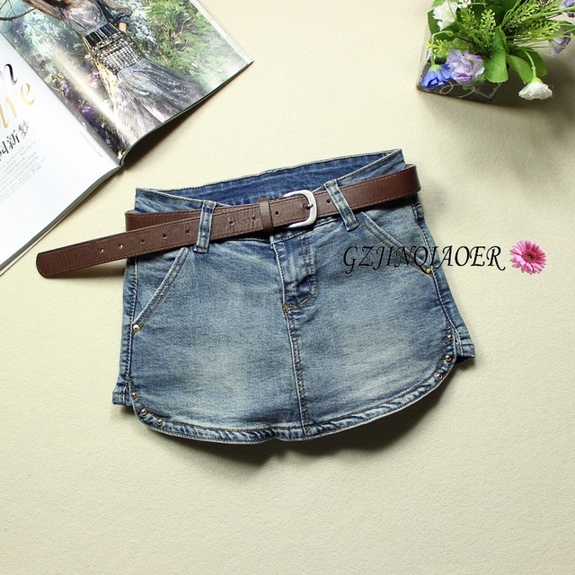 2016 летние джинсы женские узкие эластичные низкой талией джинсы feminino zip pantalones cortos mujer skorts заклепки украшения шорты джинсы