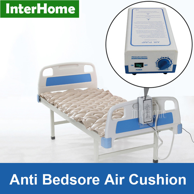 Ce Al Hospital Sickbed Alternating Pressure Air Mattress With Pump Prevent Bedsores And Decubitus Pneumatic Massage