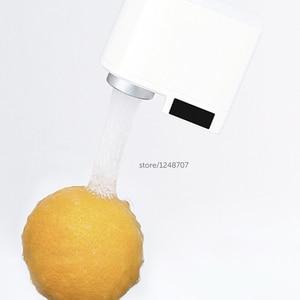 Image 3 - Dispositivo de detección automática Youpin ZJ, dispositivo de ahorro de agua por inducción infrarroja, difusor de agua, cocina, lavabo, grifería