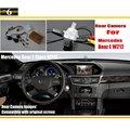Para Mercedes Benz Clase E W212 2010 ~ 2015/Opinión Posterior Del Coche Copia de seguridad de Reversa Cámara Fija/RCA y Pantalla Original Compatible