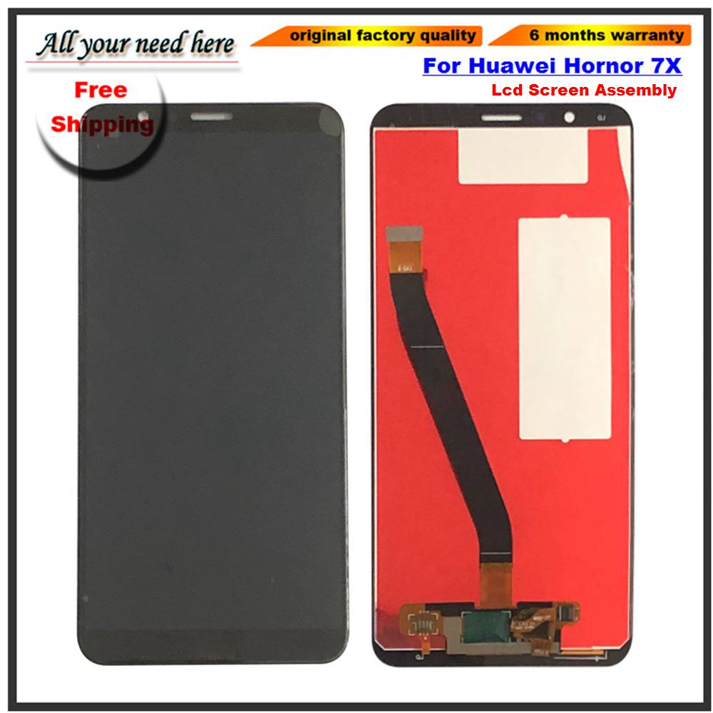 Original LCD Display For Huawei Honor 7X BND-L21 BND-L22 BND-L24 Mate SE Touch Screen Digitizer Assembly without FrameOriginal LCD Display For Huawei Honor 7X BND-L21 BND-L22 BND-L24 Mate SE Touch Screen Digitizer Assembly without Frame