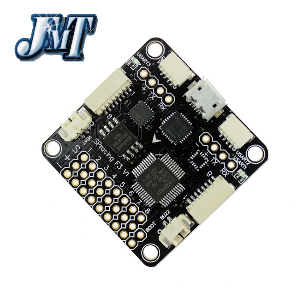 JMT Upgrade NAZE32 NAZE33 Acro Pro SP Racing F3 Flight <font><b>Controller</b></font> Deluxe 6 / 10DOF for 250 RC Racing Quadcopter FPV Multicopter