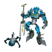 707-3 87pcs Bionicle Cali Master Of Water Building Block Compatible 70786 Brick Toys все цены