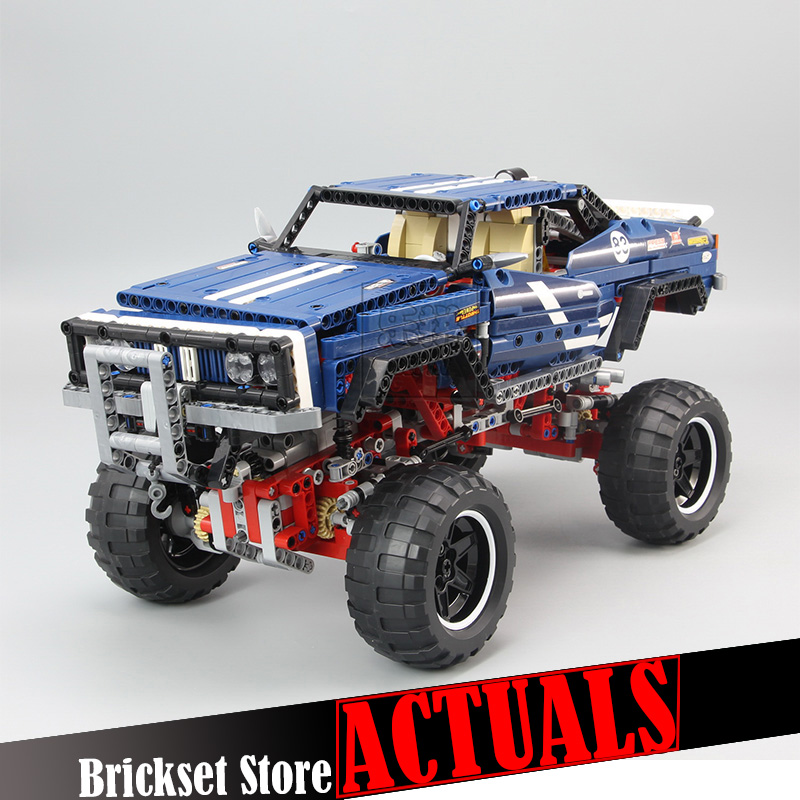 LEPIN 20011 1605Pcs the Technic series Super classic limited edition of off road vehicles Model Building blocks Bricks Toy 41999 starpad for xinyuan off road motorcycle accessories x2 x2x off road vehicles after the fender white