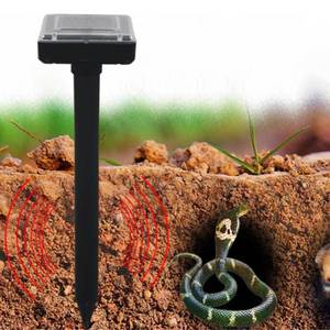 Image 5 - 환경 친화적 인 태양 광 발전 초음파 gopher 첩자 뱀 마우스 해충 repeller 정원 야드 토끼에 대한 제어를 거부 suirrels skunks