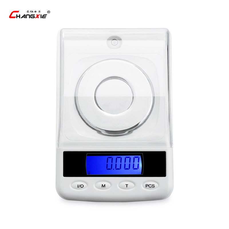 50g / 0.001g Digital Electronic Scale LCD Display Precision Laboratory Balance Gram Medical Scales Portable Jewelry Glod scale 50g 0 001g precision digital jewelry gem powder scales electronic diamond milligram scale bench weighing balance free shipping