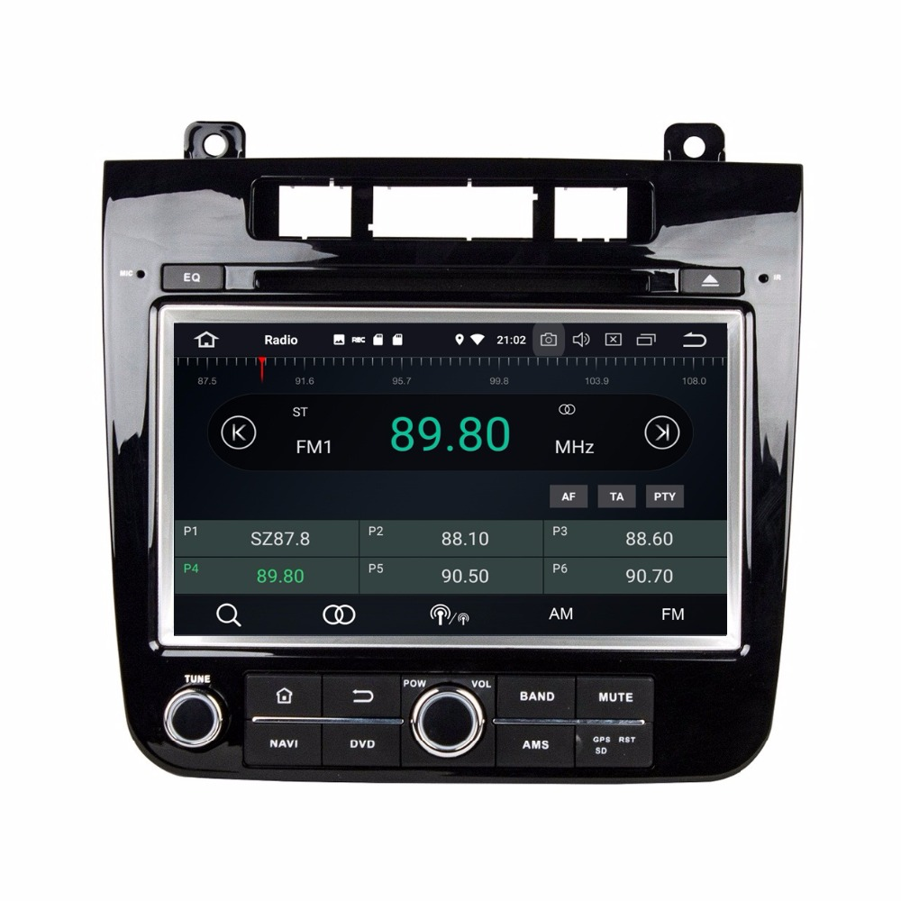 octa core 2 din 8 android 8 0 car radio dvd gps for vw. Black Bedroom Furniture Sets. Home Design Ideas