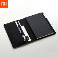 Xiaomi Mijia умный дом Kaco благородный бумажный блокнот кожаный Слот для Карт Бумажник Книга для офиса путешествия с подарком 2