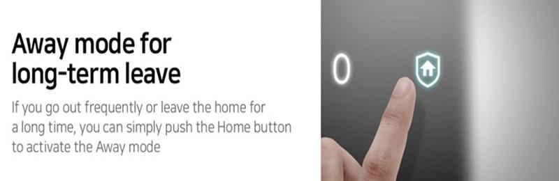 HTB1eodbal1D3KVjSZFyq6zuFpXaA SAMSUNG Fingerprint PUSH PULL Digital Door Lock With WIFI Bluetooth App SHS-DP728 English Version Big Mortise AML320