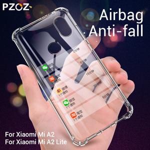 PZOZ For Xiaomi Mi Note 10 Pro CC9 Pro CC9e A2 lite 9 SE PocoPhone F1 Redmi Note 7 6 Plus Protective Silicone Shockproof Case(China)