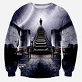 Alisister Men/Women galaxy space sweatshirt print I could see the universe 3D hoodies Casual Unisex sweatshirt harajuku hoodies