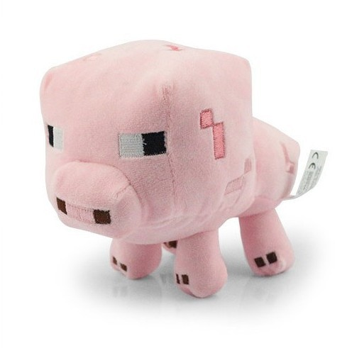 Online Buy Wholesale minecraft plush pig from China minecraft