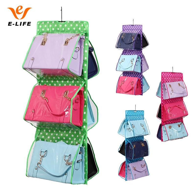 colores bolsillos que cuelgan el bolso monedero del bolso de mano bolsa de