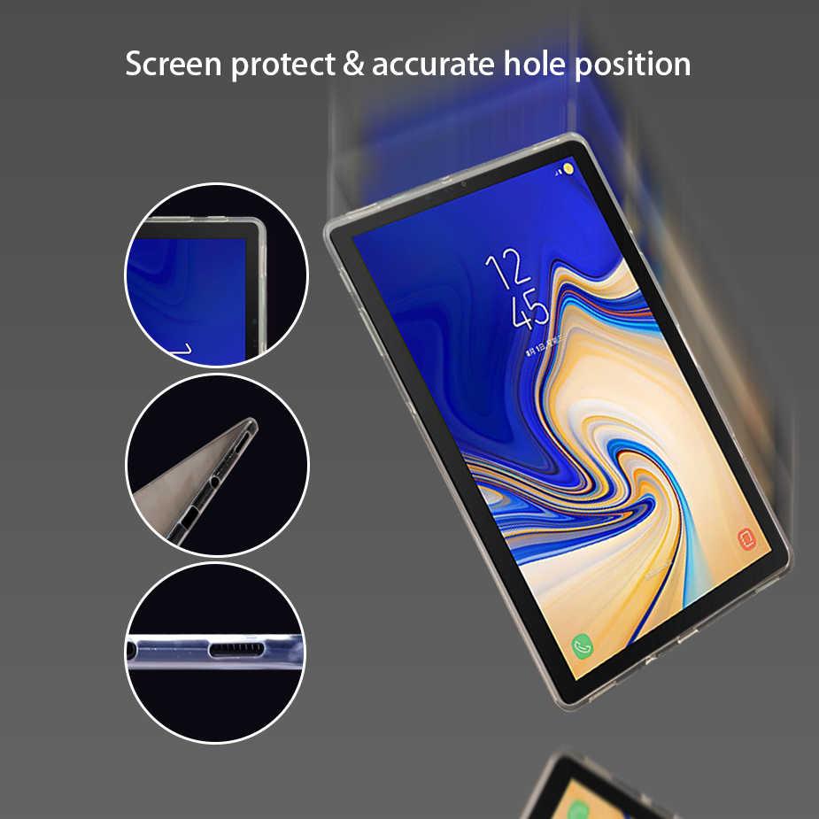 Kikiss Tablet Case untuk Samsung Galaxy Tab S5e S S2 S3 S4/Tab A 2019 10.1 A6 A2/tab E/8.0 7.0 8.4 9.6 9.7 10.5 Silicon Cover