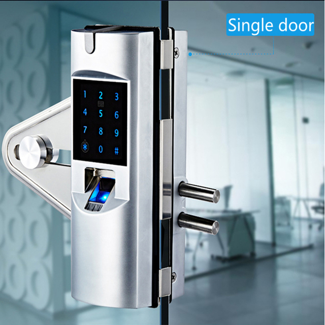 Office glass door nfc smart fingerprint lock in locks from home office glass door nfc smart fingerprint lock planetlyrics Gallery