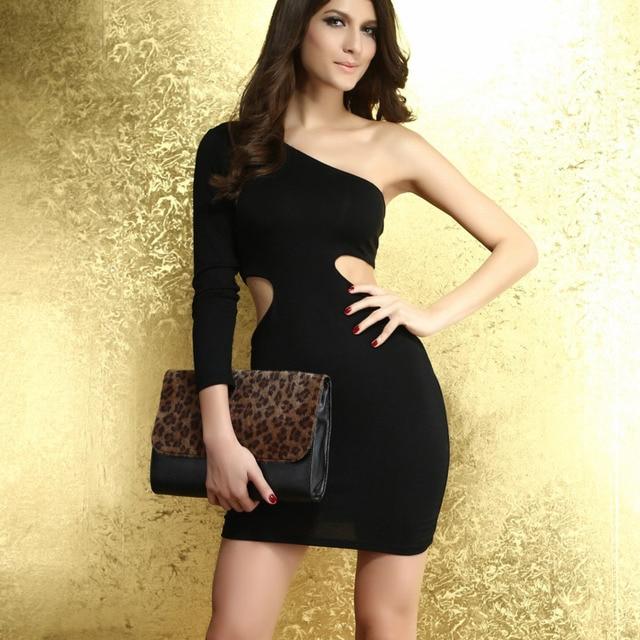 One Arm Sleeve Dress