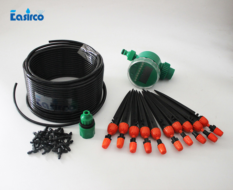 Micro irrigation with electronic timer.self irrigation for sprayer , dripper and misting.