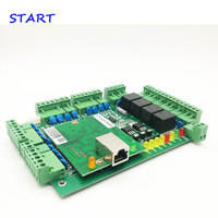 Wiegand Four door Lock Access Controller RFID Card access control board TCP/IP Multi Door Security Access Control System T04