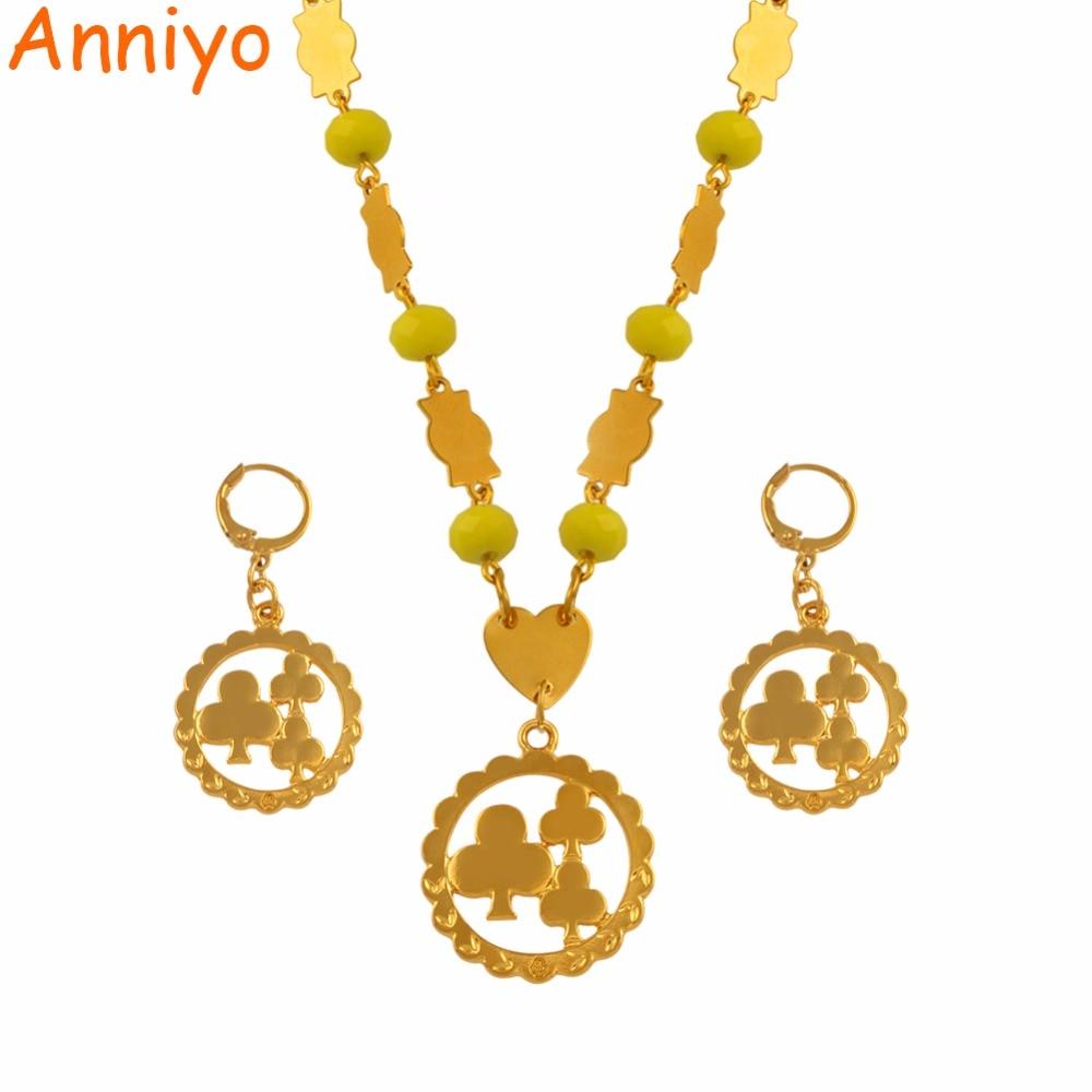Aliexpress.com : Buy Anniyo Flower Pendant Necklaces