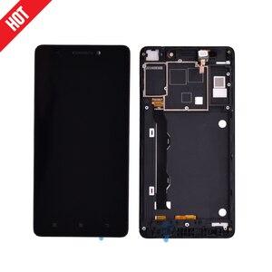 Oryginalny dla 5.5 instrukcji obsługi Lenovo K50 K50-T5 K3 uwaga wyświetlacz LCD ekran dotykowy wymiana Digitizer zgromadzenia z ramki darmowa wysyłka