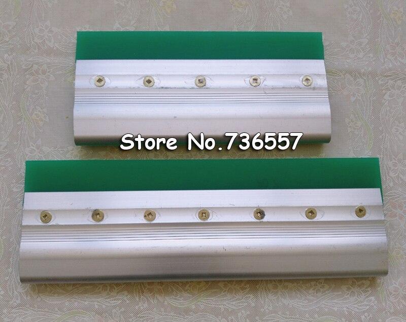 где купить 2 pcs Screen Printing Squeegee 35cm / 13.8 Inch  Aluminium Alloy Handle Customization Accpeted по лучшей цене