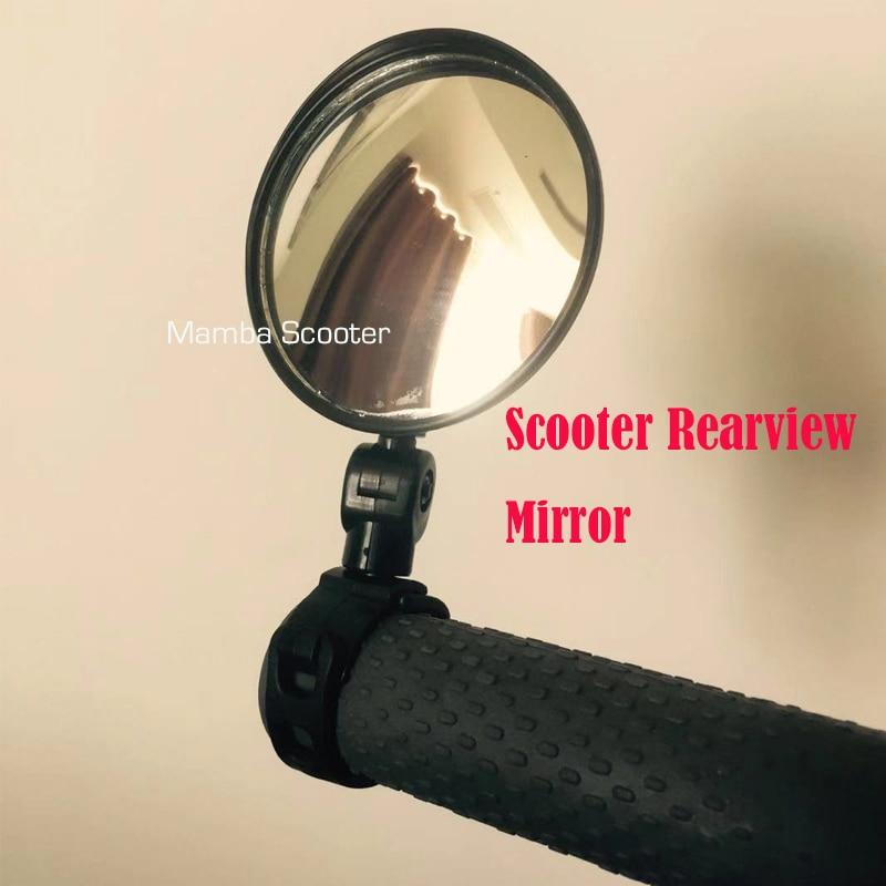Scooter R/étroviseur pour Xiaomi Mijia M365 Ninebot ES1 ES2 Scooter Qicycle EF1 V/élo Retour Miroir Cycle Sangle Reflex