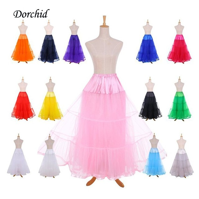 9439e3a89cd7 Dorchid Fluffy Skirts Rockabilly Petticoat Retro Vintage Women Party Dance  Pettiskirt Slips Underskirt CrinolineTutu Tulle Skirt