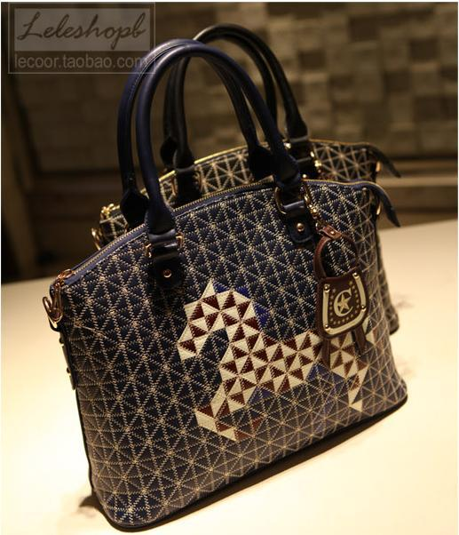 Korean Fashion Handbags Casual Nice Famous Brand Name Same Horse Handbag Pony Trendy Cosy Light Women S Shoulder Bag In Bags From Luggage On
