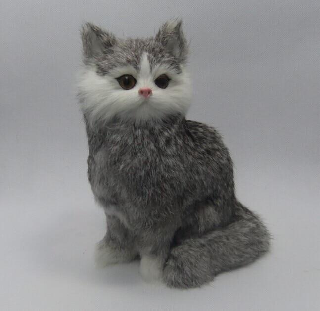 Sevimli kitty / kitty kedi oyuncak / ev dekorasyon kedi oyuncak - Ev Dekoru - Fotoğraf 3