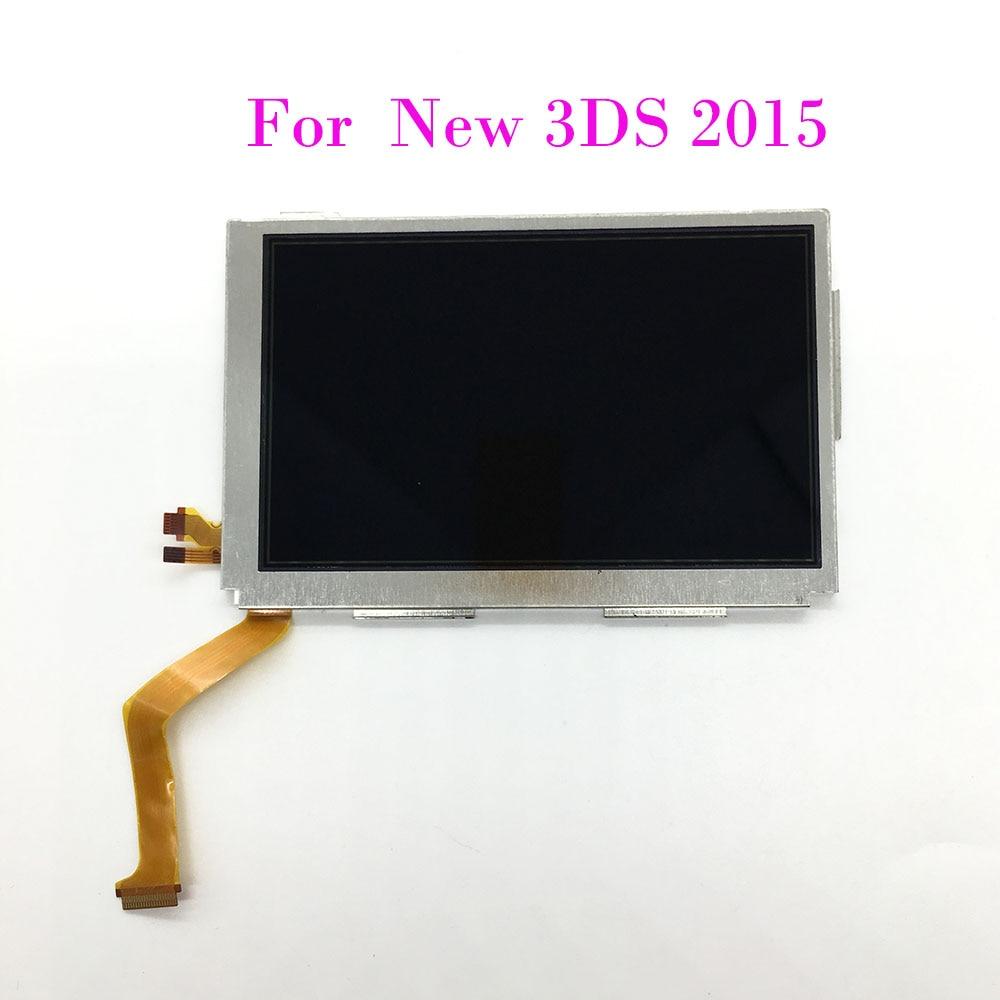 Reemplazo de pantalla de LCD superior para Nintendo NEW, pantalla LCD superior 3DS, 2015