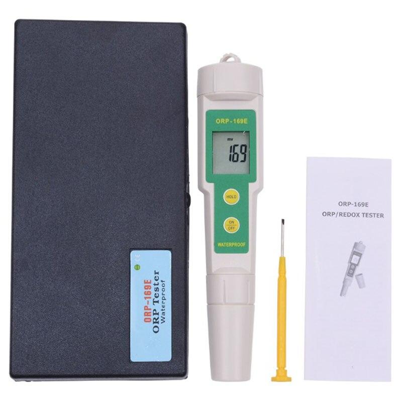 SHGO HOT-Professional 169E ОВП детектор редокс-тестер водонепроницаемый ОВП метр Ph измерительный инструмент - Цвет: Green