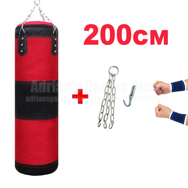60 80 100 120 150 200cm Sandbag Thickened Canvas Punching Bag