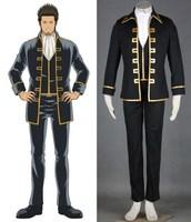 GINTAMA Shinsengumi Captain uniform cosplay kostuum halloween