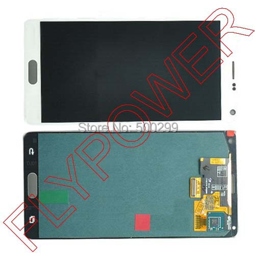 For Samsung For Galaxy Note 4 N9100 LCD Screen display with Touch Screen Digitizer Assembly  by free shipping; 100% warranty