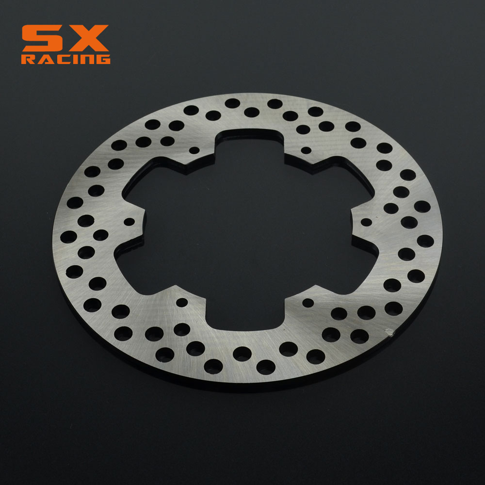 Motorcycle Stainless Steel Rear Brake Disc Rotor For SUZUKI RM125 1988 1999 RM250 89 99 RMX250 89 99 DRZ400S DRZ400E