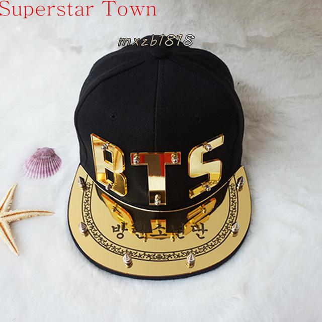 Kpop bts bangtan meninos concertos de verão chapéu de sol snapback bonés de beisebol hip hop 2016 novo