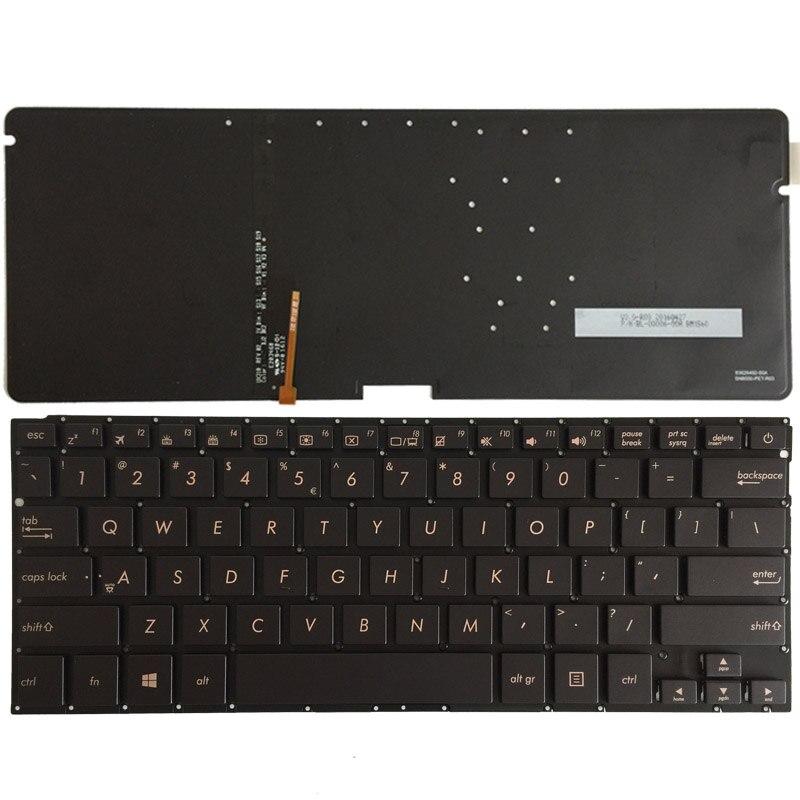 Clavier d'ordinateur portable us pour ASUS UX310 anglais avec clavier rétroéclairé 0KN0-UM2UI16 SG-64071-XUA