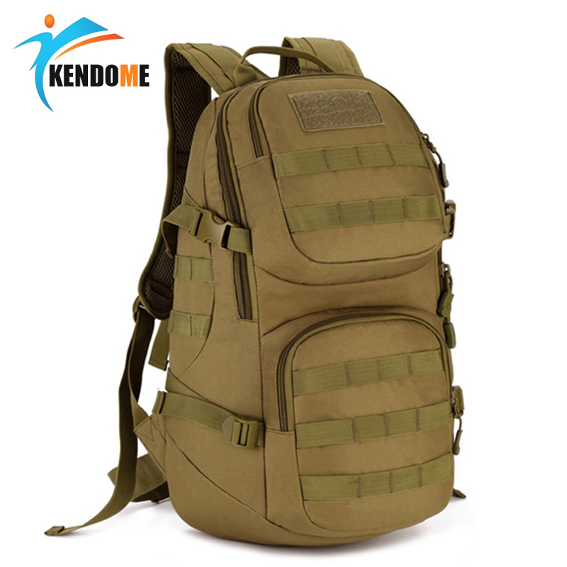 Hot 35L Molle High capacity Waterproof Nylon Tactical Backpack Assault Military Rucksacks Backpack Camping Hunting Sports Bag airsson tactical molle nylon load bearing backpack outdoor hunting hiking camping high capacity waterproof backpack military bag