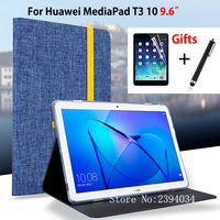 Case For Huawei MediaPad T3 10 AGS W09 AGS L09 AGS L03 9 6 Smart Cover