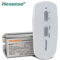 Hesunse Y B6 One Channel Digital RF Wireless Remote Control Switch 1 Receiver 220V And